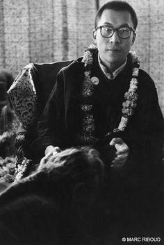 Dalai Lama, Calcutta, 1956. The fourteenth Dalai Lama, Tenzin Gyatso (born 1935), has to leave his country, Tibet, for the first time.