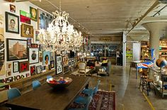 Posted June 10, 2011 3:05 am by Elka Karl  Architectural photographer Kent Wilson captured the spirit of this LA loft perfectly. Eclectic, elegant, playful, and exuberant, it's captured my imagination.