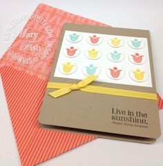 Tutorial on Stampin Pretty blog on how to make your own envelope with the Diagonal simply scored plate from stampin up