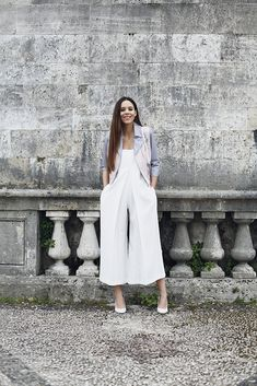 Culottes are everywhere right now - here's my current favourite jumpsuit with great culotte trousers!