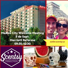 Scentsy Mexico Welcome Meeting in Mexico City! Learn more at - http://wicklesscandleshop.com/mexico-scentsy/