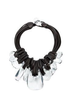 {Monies / 03 jewelry / 05 necklace} Round Stone Pendant Necklace