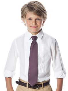 "Boy's 50"" Duchess Satin Neck Tie #ring #bearer #tie"
