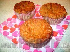 Recept - Jablečno-tvarohové muffiny