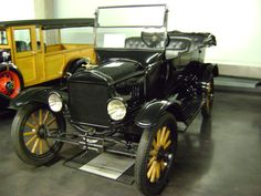 1923 Ford Model T Touring. Photo taken at LeMay Museum in Tacoma, WA., USA.