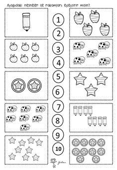 Top 40 Examples for Handmade Paper Events - Everything About Kindergarten Printable Preschool Worksheets, Free Math Worksheets, Kindergarten Math Worksheets, Math Literacy, Preschool Learning Activities, Preschool Activities, Math For Kids, Math Centers, Kindergarten Morning Work