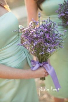 would love to do sage and lavender wedding decor  #heather wedding #purple wedding #jasmine #purple bridesmaid #twobirds #wedding inspiration