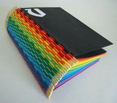 papelmarcante: Piano Hinge - Livro arco-íris - Tutorial II