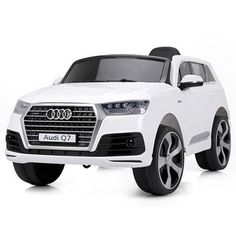 Best Ride On Cars Audi Battery Powered Riding Toy Audi Q7, Batterie 12 Volts, Kids Power Wheels, Engine Start, Premium Cars, Kids Ride On, Ride On Toys, S Car, Led Headlights