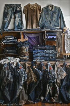 Fabulous MALE Western Wear, a Complete Wardrobe!    (INSTALLATION & PHOTOGRAPHY BY Ali of A NOBLE SAVAGE)