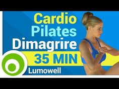 Cardio Pilates per Dimagrire - YouTube