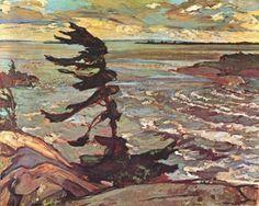 Stormy Weather (Georgian Bay), Frederick H. Varley, 1920