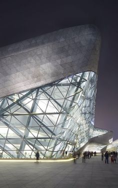 guangzhou opera house china - zaha hadid architects