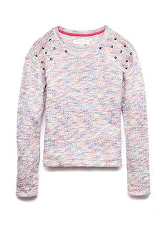 Bright Thing Studded Sweater (Kids) | FOREVER 21 - 2000091994