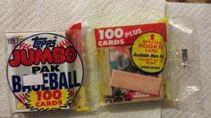 1987 Topps rack pack, Rafael Palmeiro rookie card on back
