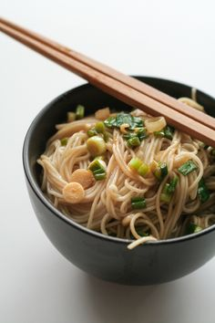 These ginger scallion noodles are so easy that I thought they might be boring, but that definitely was not the case. They are super, super simple but the flavors come together so well to make a great vegan/vegetarian side dish – I had no idea simple green onions could give so much flavor. If you …