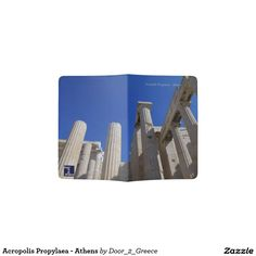 Acropolis Propylaea - Athens Passport Holder