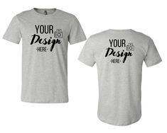 T Shirt Image, Blank T Shirts, Shirt Mockup, Photo Editor, Bella Canvas, Athletic, Things To Sell, Mens Tops, Athlete
