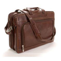 Tony Perotti Green Napoli Laptop Leather Briefcase & Reviews   Wayfair