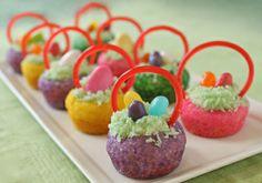 Cute Easter Basket Cookies