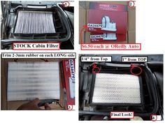 DIY: Cabin Air Filter, the INEXPENSIVE Way!