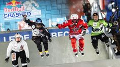 Ice Cross Downhill Battles in Canada | Red Bull Crashed Ice 2015