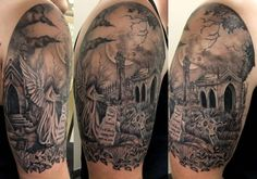 celtic cemetery tattoos - Google Search