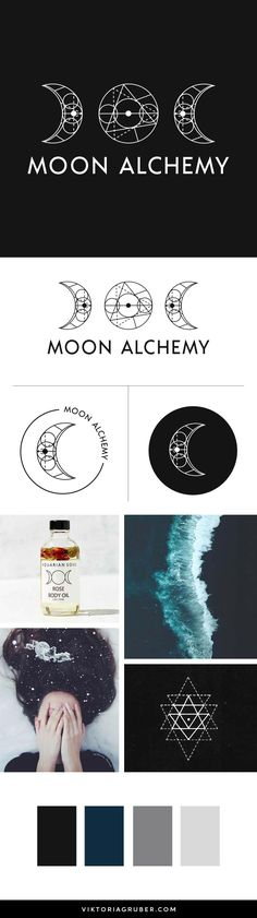 Brand Design Shop. Sold only once + custom fitted premade brand design packages by Viktoria Gruber. Features: minimal, alchemy, moon phases, sacred geometry, ocean, subconscious, indigo, mother earth, healer, coach, organic, natural, magical, botanical.