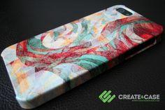 "iPhone 5 case - Artist Designed ""Rapt"" by Jacqueline Maldonado #iphone5 #iphone5case #uniquecase #colourfulcase"