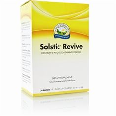 Solstic Revive is a great addition to your water bottle after a hard workout to replenish your body of lost nutrients. It's a natural alternative to sports drinks. Make sure you use sponsor number 2849323 if you order off of Nature's Sunshine website to get hooked up with extra free stuff!