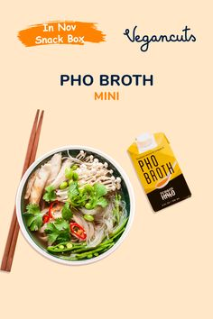 Equally beneficial for mind & body - Ocean's Halo's Pho Broth Mini is a delicious ocean farmed, kelp-based broth or a soup base. Nourishing and simple, this savory base for Vietnamese pho can be enjoyed for breakfast, lunch or dinner - Add your favorite noodles and enjoy!