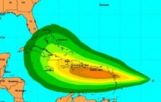 Tropical depression nine soon to become TS Isaac