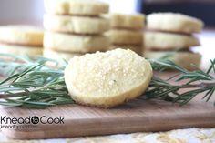 Lemon Rosemary Cookies.