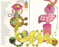 Le cycle de la digestion, illustration by Osterwalder