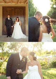Limefish Studio: Rustic & Romantic Temecula Vineyard Wedding Photos © Ashley Bee | Wedding Dress with Pockets | Couple Pose