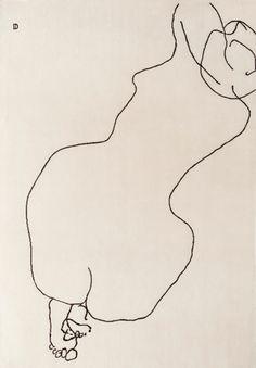 Eduardo Chillida Gesture Drawing, Life Drawing, Figure Drawing, Doodle Drawings, Cartoon Drawings, Doodle Art, Drawing Techniques, Erotic Art, Love Art