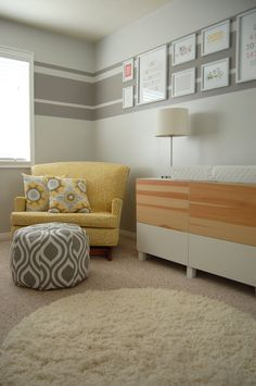 I Like The Stripe Idea For An Inexpensive Design And To Add Interest