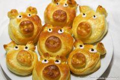 Glücksschweinchen backen Rezept Pudding, Fruit, Desserts, Advent, Sugar Free Muffins, Tailgate Desserts, Deserts, Custard Pudding, Puddings