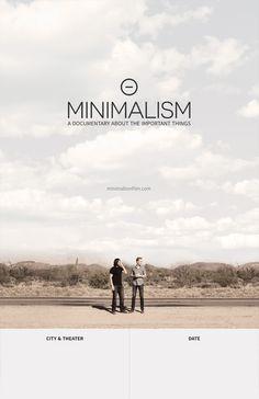 Minimalism Poster Contest