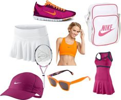 """Tennis outfit"" by micmeron on Polyvore"