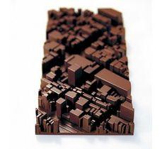 chocolat vu du ciel / food design, design culinaire
