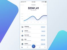 Personal Finances App Animation by Pawel Kwasnik