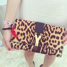 Love Camilla's Ysl leopard bag - @chiaraferragni- #webstagram