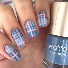 For this mani I used @moyou_london Hipster 06 and Pro XL 01 . . . #nailfashion #naildesign #nails2inspire #nailsnailsnails…