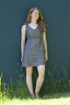 The Mississippi Avenue Dress & Top Printed Sewing Pattern – Sew House Seven