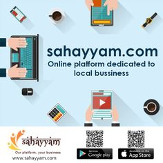 Online platform dedicated to local business.  http://sahayyam.com Our platform, your business.  #SellingOnline #OnlineStore #OnlineSellers #OnlineShopping #order #Shop #online #Sahayyam #ShopOnline #eCommerce #DigitalIndia #business #GooglePlay #AppStore