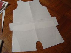 Free Printable Romper Pattern | Fit to a T baby romper tutorial part 2: Making the Pattern and Cutting ...