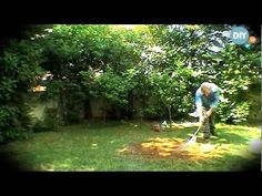 Επανασπορά γκαζόν epanaspora gazon @ www.diytv.gr - YouTube