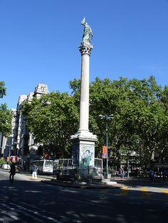 Plaza Cagancha,  Montevideo, URUGUAY