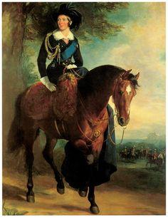 Portrait of Queen Victoria on Horseback, Francis Grant